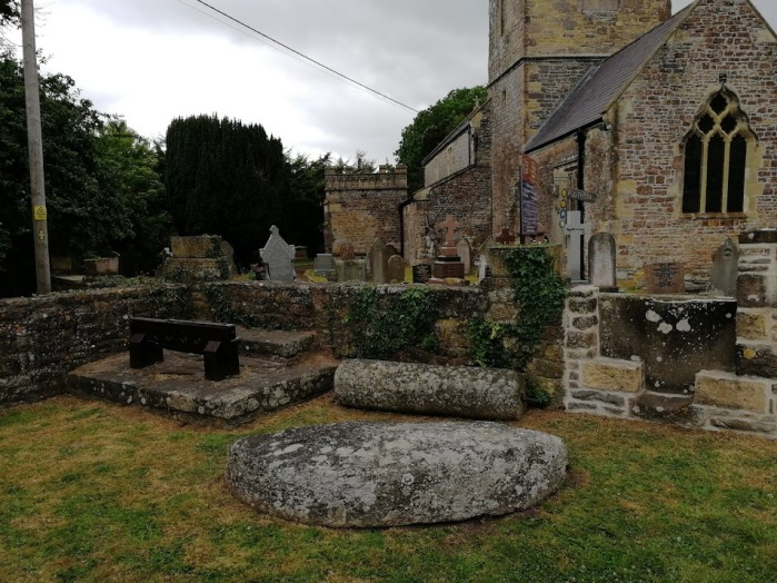 Redwick Church and Stocks