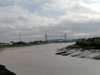 Virst View of the Transporter Bridge