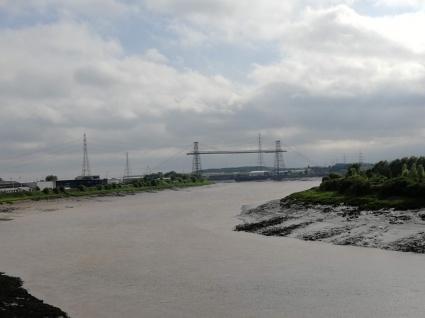 Virst View of the Transporter Bridge
